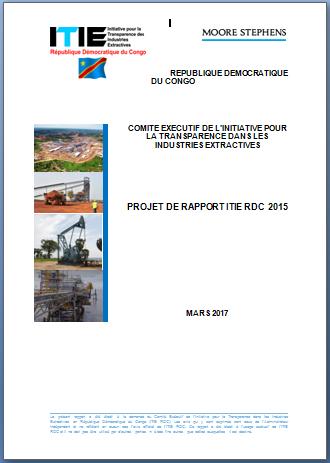 Rapport ITIE-RDC 2015 avec les amendements des PP